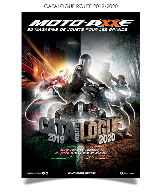 Catalogue accessoires équipements moto route
