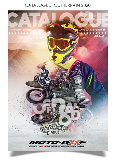 Catalogue accessoires équipements moto tout terrain