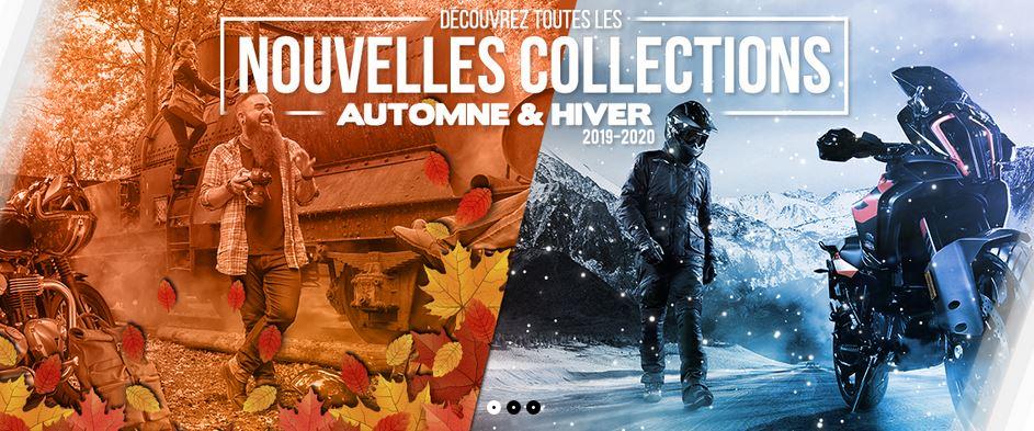 Catalogue accessoires et équipements moto
