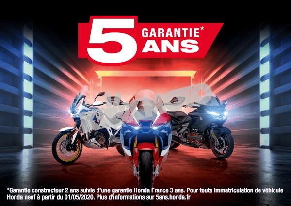 Honda garantie 5 ans